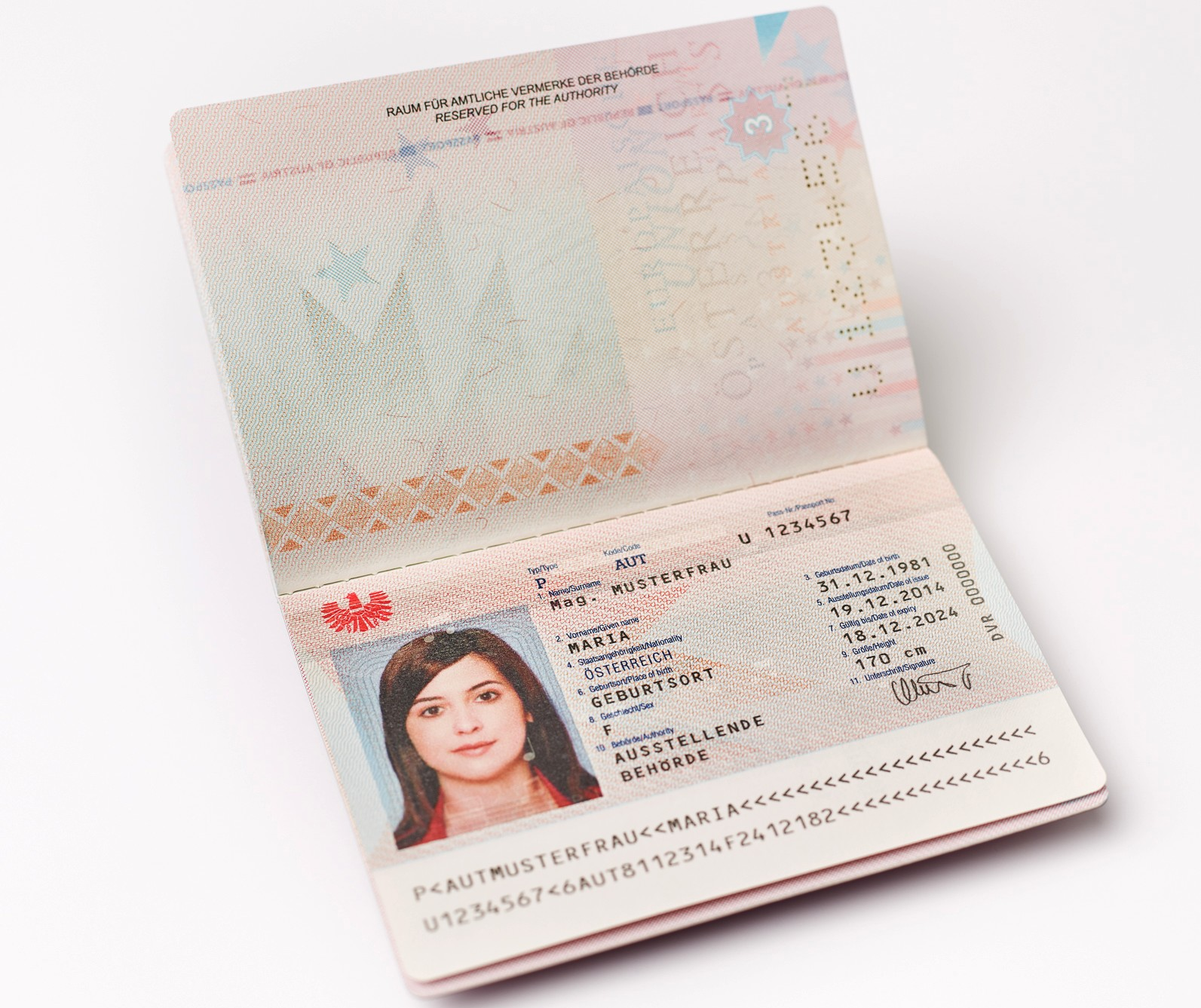 Reisepass Geburtsurkunde