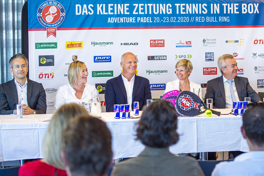 Sowohl in Graz als auch am Red Bull Ring im Trend: Padel-Tennis  © Lucas Pripfl/Red Bull Content Pool