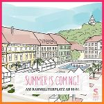 "Graz in Feierlaune: ""Summer in the City"" am Karmeliterplatz."