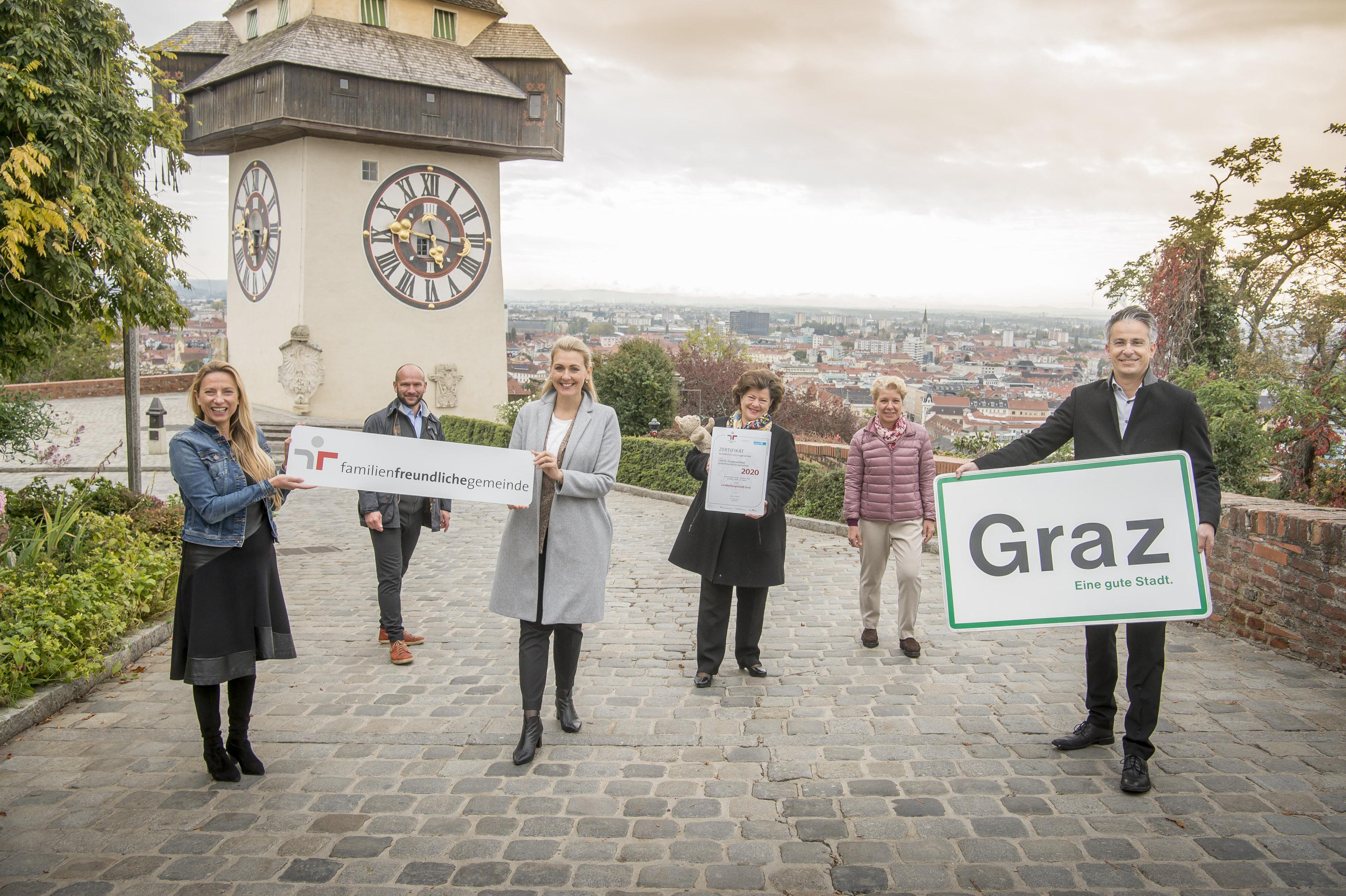 Im Zeichen Von Kinder Und Familienfreundlichkeit Stadtportal Der Landeshauptstadt Graz