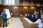 Interessante Fragestellungen ergaben sich beim Workshop der Soziologin.