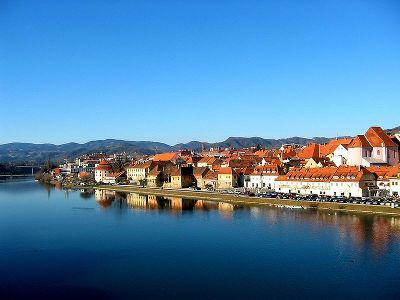 The Maribor´s quarter Lent © Andrej Jakobčič, wikipedia